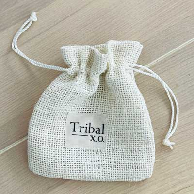 Tribal Silver Pouch